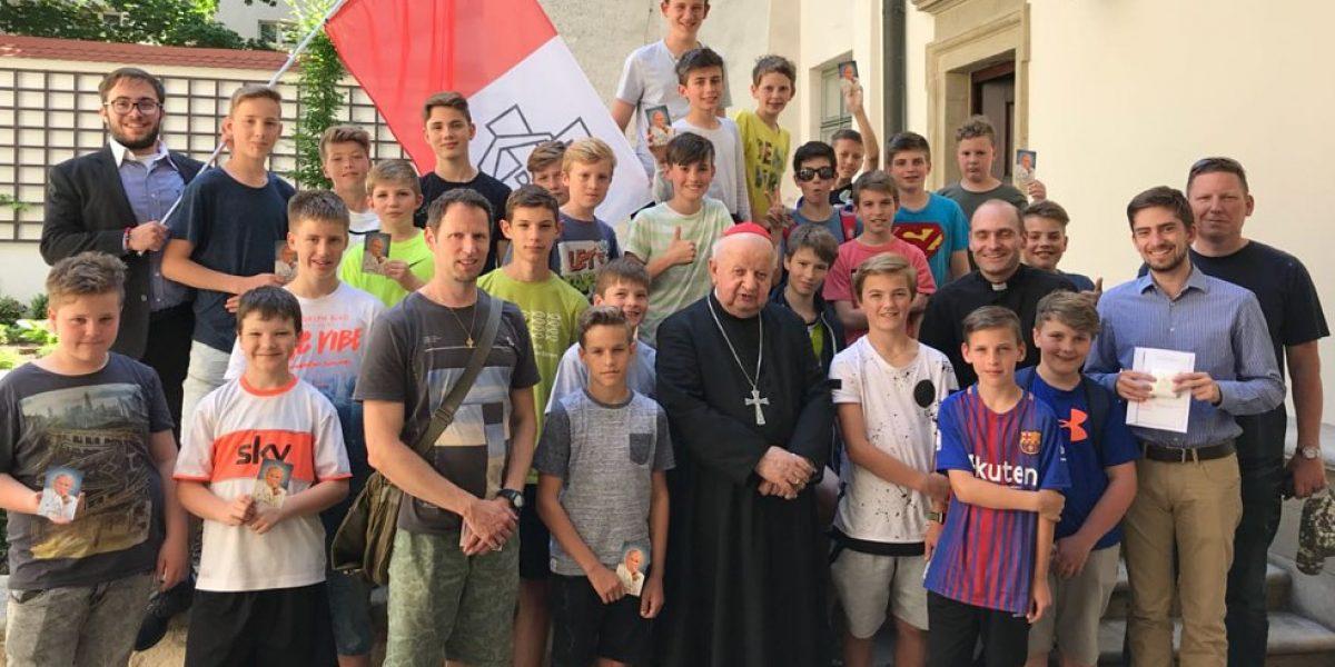 ECYD Treffen mit dem Kardinal in Krakau