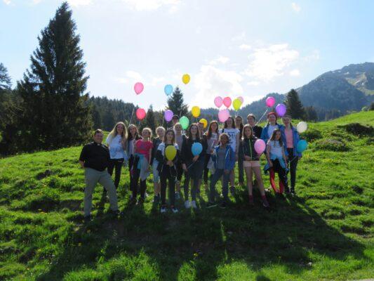 LGIO Gruppenfoto vor dem Wandern